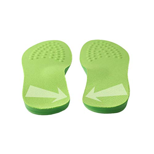 Artibetter 1 Paar Orthopädische Einlegesohlen O Bein Korrektur Atmungsaktive Schuheinlagen Fußgewölbestütze Senkfuß Plattfuß Einlagen Sporteinlagen für Plantar Fasciitis Sport