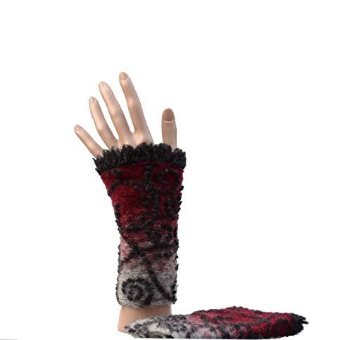 Pulswärmer Handstulpe Arm Stulpe Filz Bio FVRR