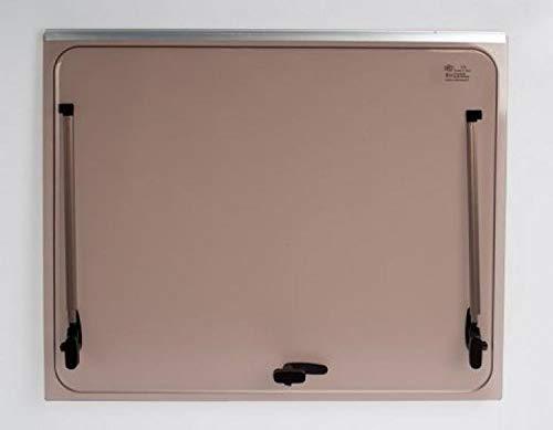 Vetro di ricambio 1268x484 per finestra camper Seitz 1300x550 - colore Bronzo - compresi accessori