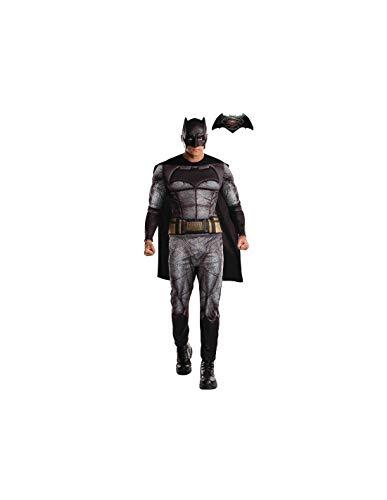 DISBACANAL Disfraz Batman Adulto Batman vs Superman - -, L
