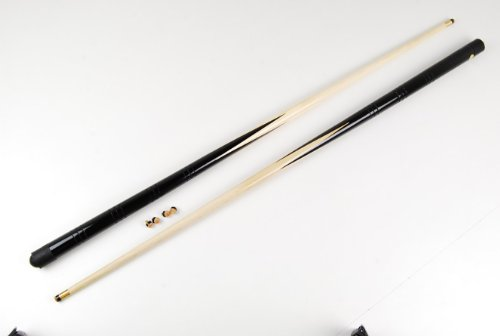 2 small 36 inch pool snooker cues 4 x 11mm screw on cue tips