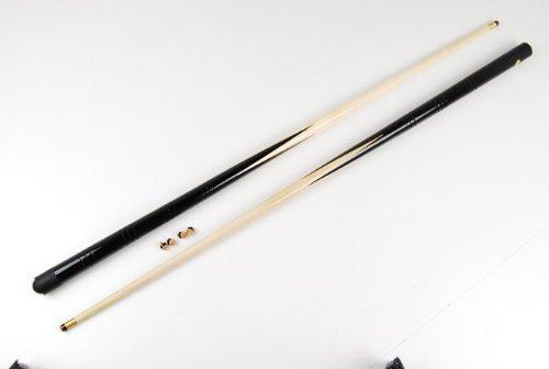 IQ Pool - Juego de tacos de billar pequeños (2 unidades, 0,90 m, puntas enroscables de 4 x 11 mm)