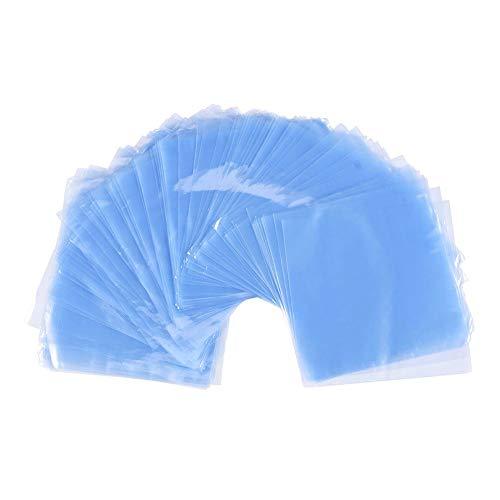 240 Stück Schrumpffolie Heißsiegel Transparent PVC Folie für Seifen Badebomben Kunsthandwerk und DIY Handwerk
