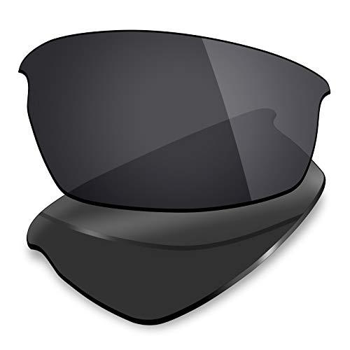 Mryok - Lentes de repuesto para Oakley Bottlecap XL, Negro (Polarized - Stealth Black), Talla única