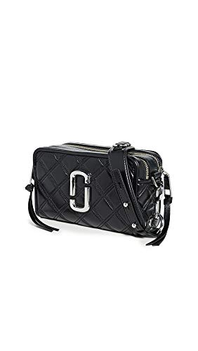 Marc Jacobs Damen die gesteppte Softshot 21 Tasche Schwarz Ein Größe