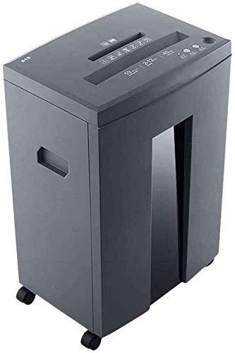 Beirich 10-Blatt-Papierreißwolf, Zerstört Papier/CD/DVD/Kreditkarte, 40-Minuten-Dauerlaufzeit, 21-L Kapazität, leicht zu bewegen