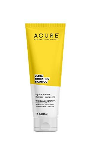 ACURE Ultra Hydrating Shampoo | 100% Vegan | Performance Driven Hair Care | Argan & Pumpkin - Ultra Hydrating Moisture & Omega Fatty Acids | 8 Fl oz