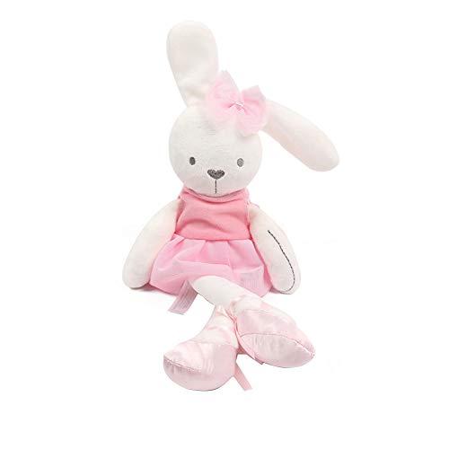 TrifyCore Cartoon Soft-Kaninchen-Plüsch-Spielzeug-Kissen-Haustier Stofftier Puppe Kind Haustier Hugging Pillow Rosa