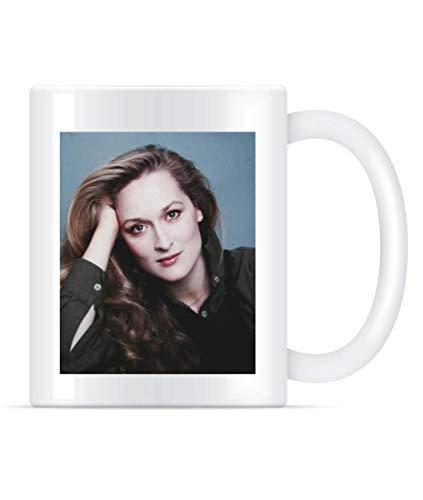 N\A Taza Sacerdotisa Meryl Streep clásico para Hombre y Mujer de los Hombres de Te