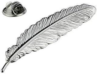 Gemelolandia   Pin de Solapa Pluma 50x10mm   Pines Originales Para Regalar   Para las Camisas, la Ropa o para tu Mochila  ...