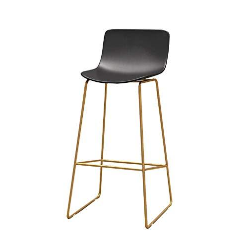 Barkruk, hoge stoel, hout, voor de keuken, kantoor, Europes, minimalistisch, barstools, smeedijzer, persoonlijkheid, barstoel, creatief, hoge bank, barkruk, hoge stoel, goudkleurig