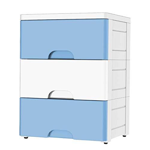 Meuble de rangement ménager, boîte de rangement à trois couches avec tiroir, organisateur de placard sous-vêtement avec couvercle et poignée en cuir, table de chevet combinée
