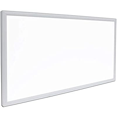 """G2 LED Panel Recessed in Ceiling Tile Light or Ceiling Thin Flush Mount Lighting in Laundry Garage Workshop Office 