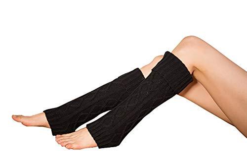 Damen Stulpen Socken, Casue Winter Lange Stricken Stulpen Diamant Gestrickte Beinwärmer Leg Warmers Stiefel Boot Abdeckung Beinstulpen