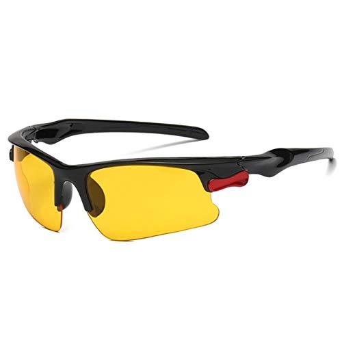 SHEDE Gafas de Sol Deportivas para Hombres y Mujeres Gafas de Sol de Ciclismo con protección UV400 Gafas de Sol Deportivas TAC Marcos de PC para Conducir Correr Actividades al Aire Libre Custody