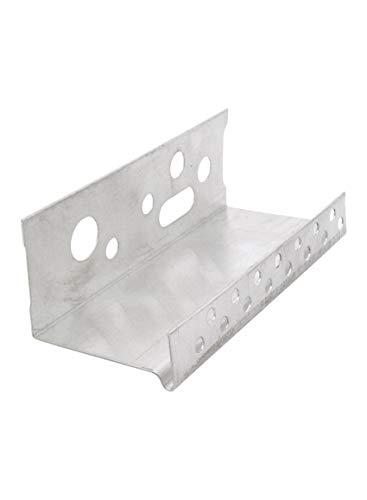 5 Stab Alu-Sockelprofil 40 mm 250 cm = 12,5 lfdm Alu-Sockelprofil Profil Sockelprofil Sockelschiene Tropfkante Abschlussprofil 40 mm