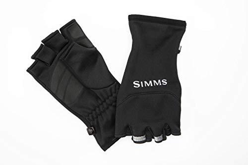 Simms Freestone Halbfinger-Handschuhe, Größe M, Schwarz
