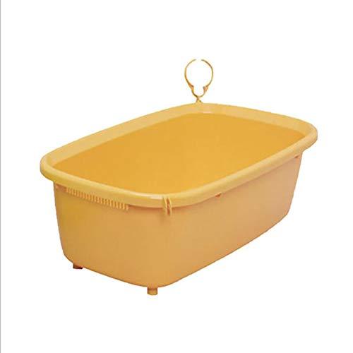 JYY Bañera de hidromasaje para Perros, baño para Mascotas con Ducha de Aseo, Accesorio de Lavado de peluquería expandible para Mascotas Medianas pequeñas