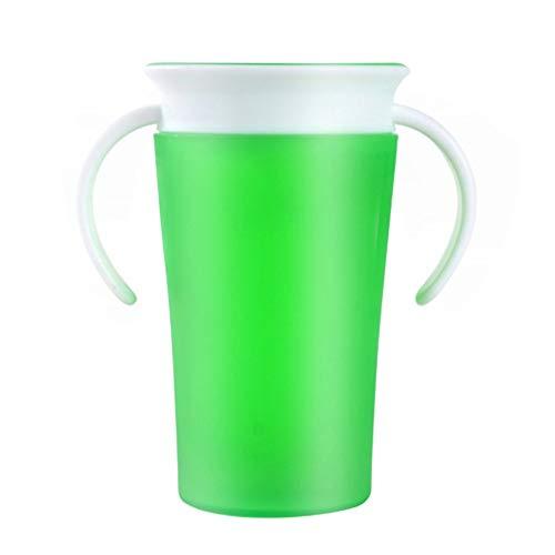 Niños Divertidos Regalos Bebé Aprendizaje Bebiendo Taza A Prueba De Fugas 360 Grados Bebida Drenaje Copa