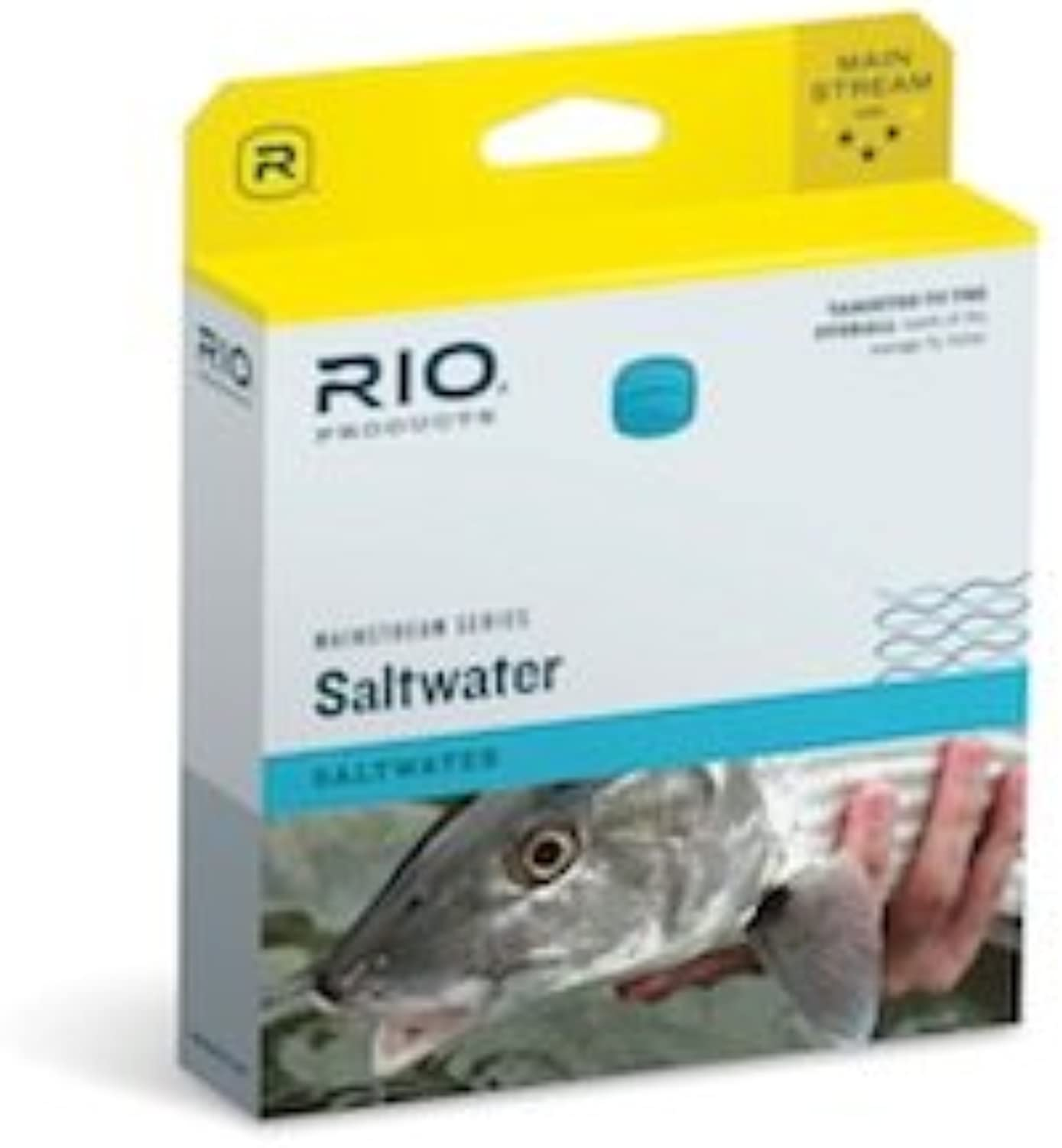 RIO Products Rio Mainstream Saltwater blueee WF12F W 3 PK Leaders