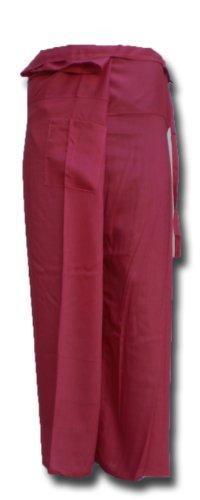 Fisherman Pants LONG Thai Yoga Wrap soft Wickelhose pink