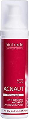 Acnaut Active Lotion 60 ml For Oily and Prone Skin, Clears Breakouts, Prevents from Pimples, Regulates Oiliness, Soothes Inflammation and Diminishes Redness by Biotrade