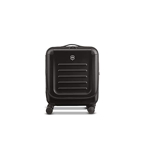 Victorinox Spectra 2.0 Dual-Access Hardside Spinner Suitcase, Black, Carry-On, Extra Capacity...