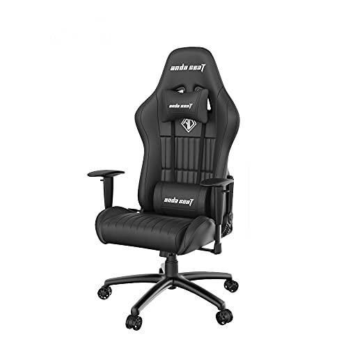 Anda Seat Jungle Pro Gaming Chair Black - Premium Ergonomic Office Desk...