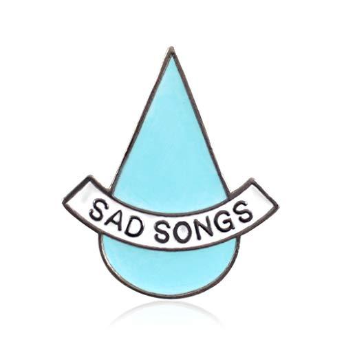 niumanery Creatieve Badge Water Drop Casual Icon Rugzak Decoratie Kleding Tas Vrouwen Dame Student Meisjes Geschenken Jas Jean Pins Corsage Kleurrijke Emaille