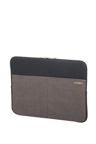 Samsonite Colorshield 2 Laptophülle 15,6 Zoll, 40 cm, 7 Liter, grau (black/grey)
