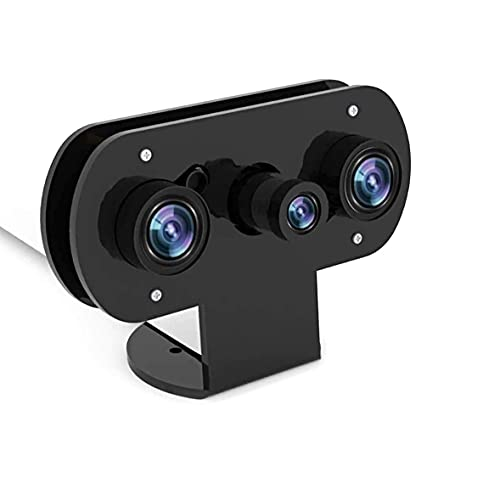 per Raspberry Pi Telecamera a Infrarossi Visione Notturna Con Custodia in Acrilico, Webcam Regolabile per Pi 4/Pi 3 B+/Pi 3, Adatta per Monitor di Sicurezza Domestica, Fai Da Te, Stampante 3D