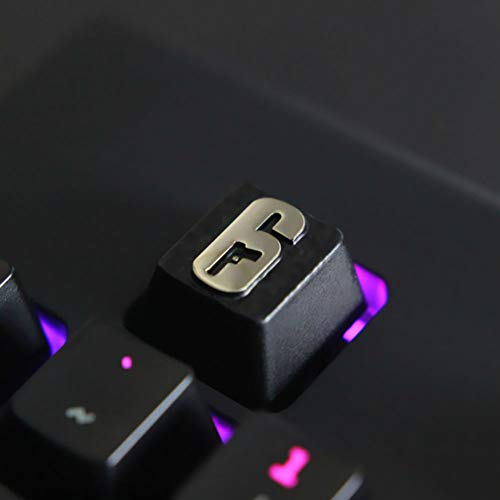 Mugen Rainbow Six 6 Custom Gaming Keycaps for Cherry MX Switches - Fits Most Mechanical Keyboards - with Keycap Puller