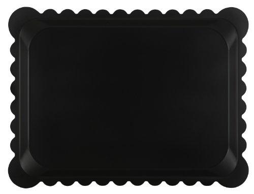 Platex 104030021D Plateau Stratifié Dentelle Noir