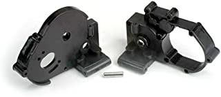 Traxxas 3691 Black Gearbox Halves with Idler Gear Shaft