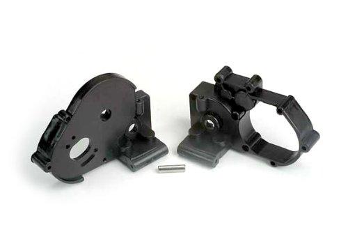 Traxxas 3691 Black Gearbox Halves with Idler Gear Shaft