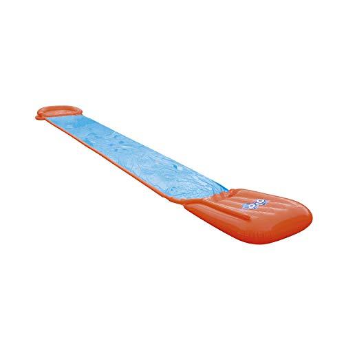 Bestway H2oGo Doppel-Wasserrutsche, mit aufblasbarer Startrampe, Single Ramp 549 cm
