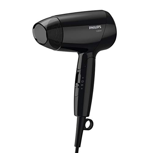 Philips BHC010/10 DryCare EssentialCare Asciugacapelli Compatto, Potenza 1200 W
