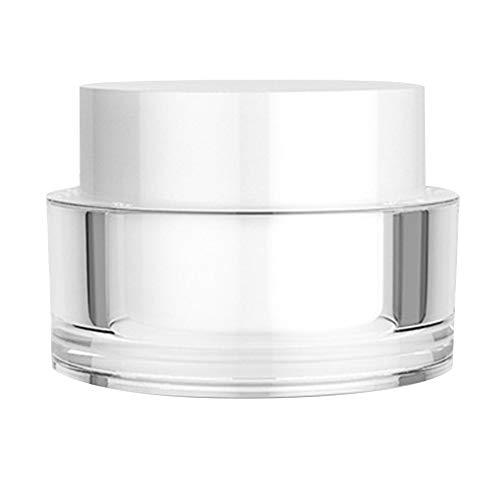 Pouybie 50/30 g Crème sous-flacons Lotion Distributeur de Shampooing Bouteilles de Voyage Transparent Toiletries Liquide Containers Acrylique Étanche Portable, 30g, 30g