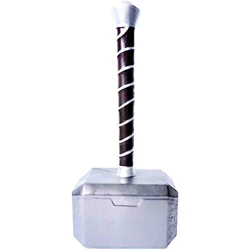 Arma de cosplay de Halloween Thor's Hammer 44cm Thor Hammer Foam Made The Thunders Hammer Collector Regalos geniales de cumpleaños