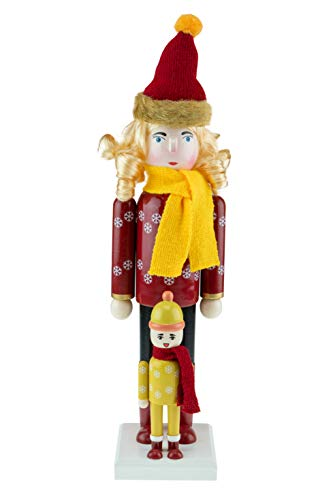 Clever Creations Nutcrackers (Mother and Chiid)