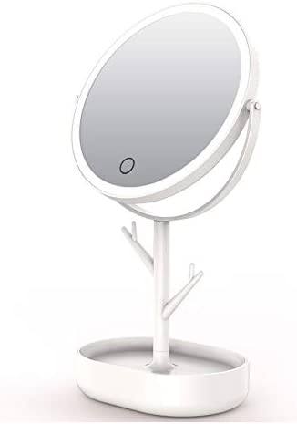 QULONG Led Makeup 5% OFF Mirror with Screenpo Dimmable Light Touch Max 49% OFF