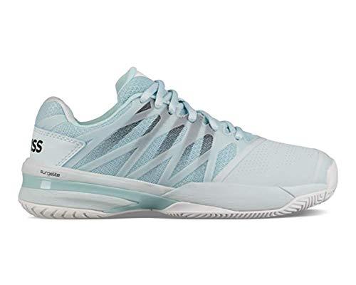 K-Swiss Ultrashot 2 Womens Tennis Shoe - Pastel Blue/White/Black - Size 7