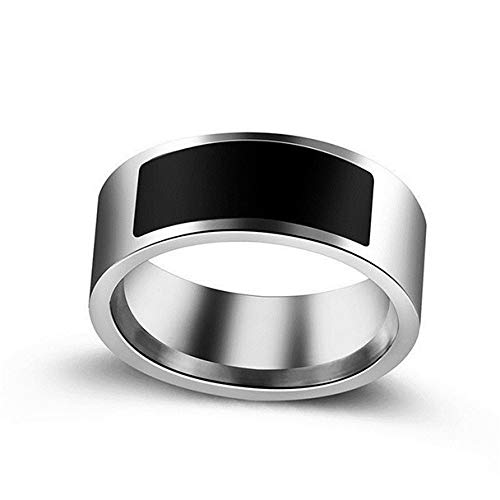OVINEE Anillo portátil Inteligente NFC,Jewelry Anillo de Cristal de Pareja para Hombre y Mujer (11)