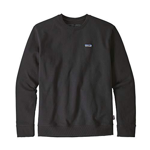 Patagonia M's P-6 Label Uprisal Crew Langarm-Sweatshirt für Herren L Schwarz