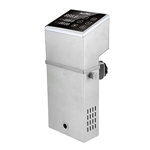 Allpax Sous Vide Garer SV 70 - Profi Gerät aus Edelstahl - Wasserbäder bis 70 l - 2000 Watt – Umwälzpumpe