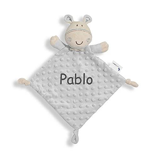 Dou Dou Bebé Atrapasueños Personalizado con Nombre Bordado Regalo para Baby Shower (Jirafa)