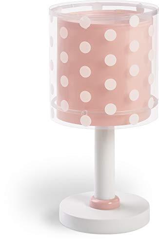 Dalber Nachtlicht Steckdose Kind Baby, LED Nachtlicht für Kinderzimmer, Punkte Koralle Dots, korallenrot