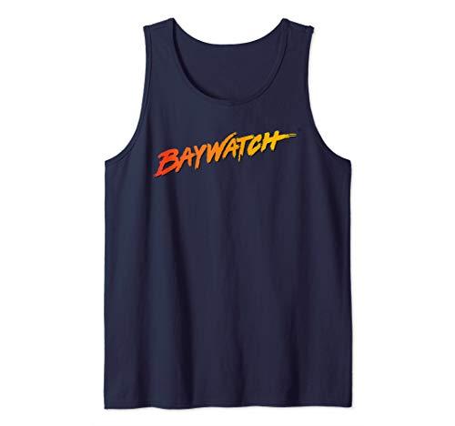 Baywatch logo Tank Top. 7 Colors for Men or Women