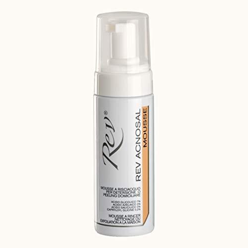 Rev Pharmabio Rev Acnosal Mousse Detergente e Peeling Pelle Impura - 125 ml