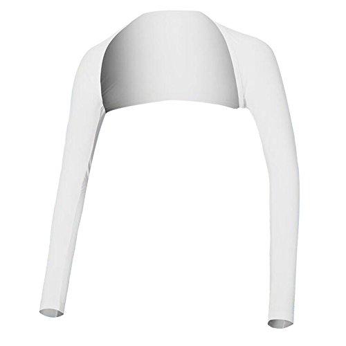 Black Temptation Golf Sun Vêtements de Protection Shirts Femmes Vêtements de Golf Wraps Blanc